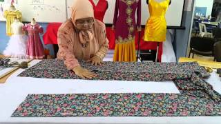 Teknik Menggunting Baju Kurung Tradisional - Stafaband