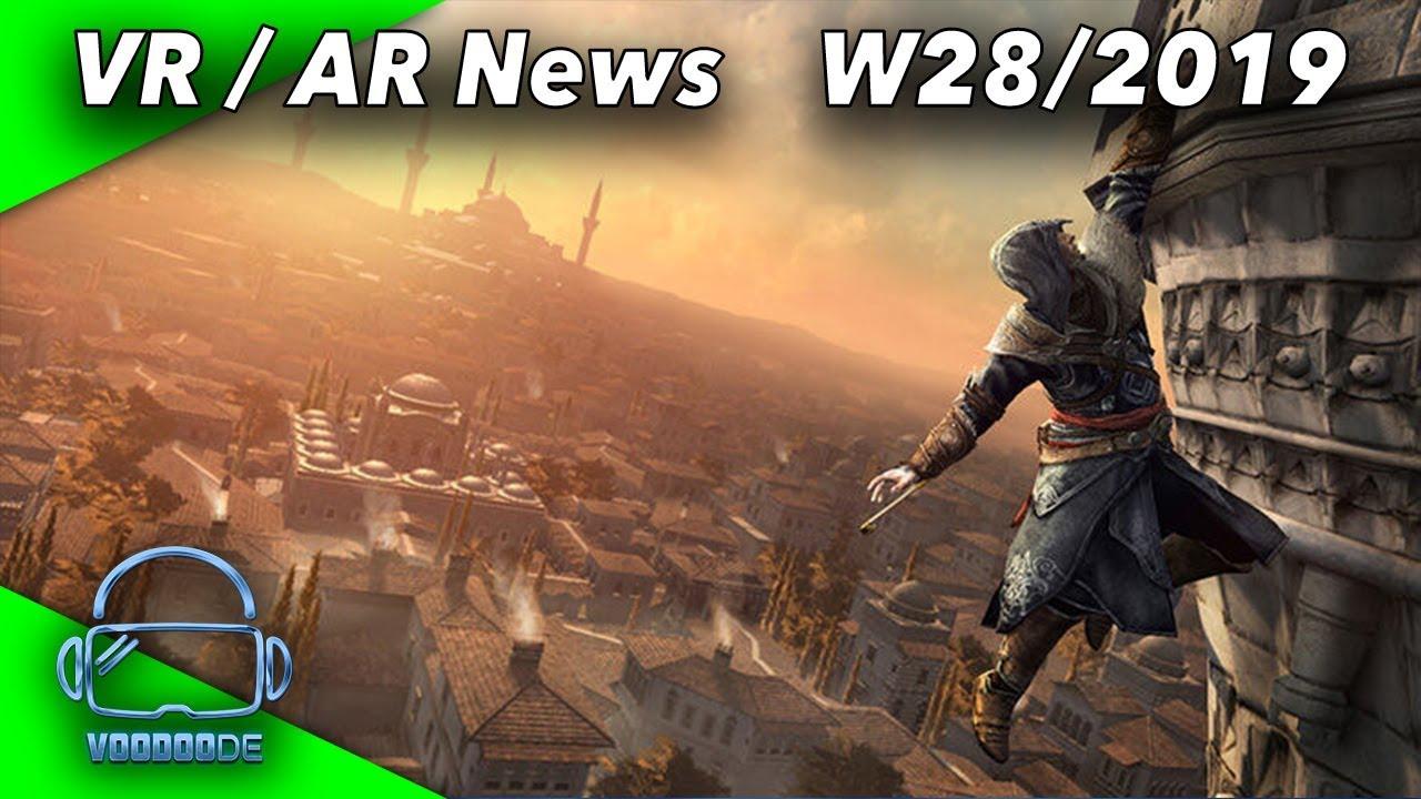 VR / AR Weekly News (W28/19) Valve Index problems, Index 3D files, multifocus VR