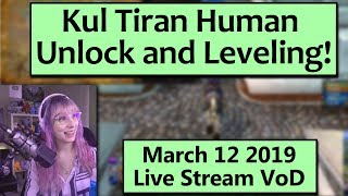 Kul Tiran Day Stream VoD! Unlocking and Starting a Kul Tiran Human Alt