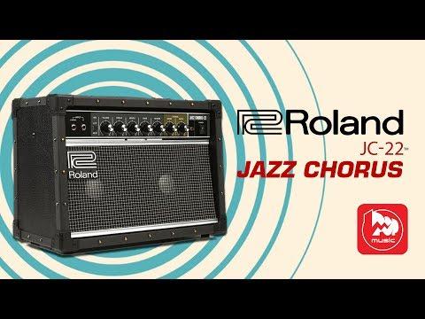 Roland JC-22 стерео гитарный комбик для чистого звука