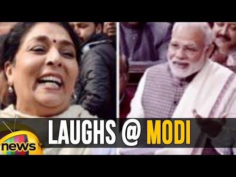 Venkaiah Naidu argues Renuka Chowdhury, Laughs At Modi While Speaking In Rajya Sabha | Mango News