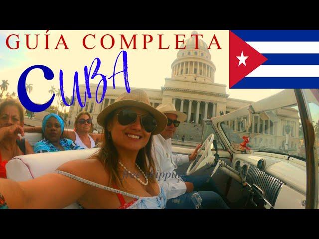 Viajas a Cuba? Descubre todo lo que debes saber antes de hacer maletas