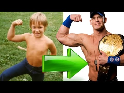 JOHN CENA ● THEN AND NOW