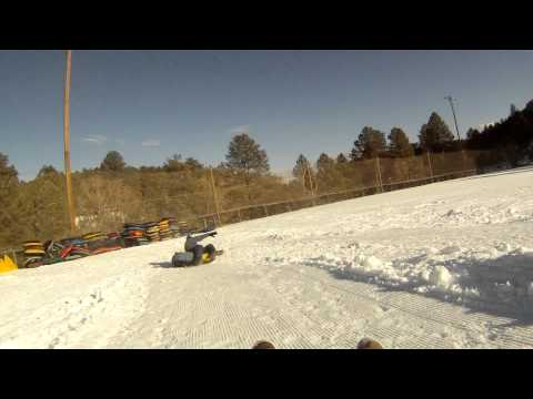 Ruidoso New Mexico  Snow Tubing