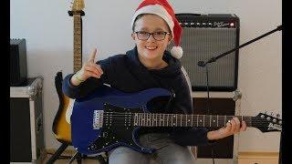 Jingle Bells - E-Gitarre | Weihnachtslieder für Gitarre