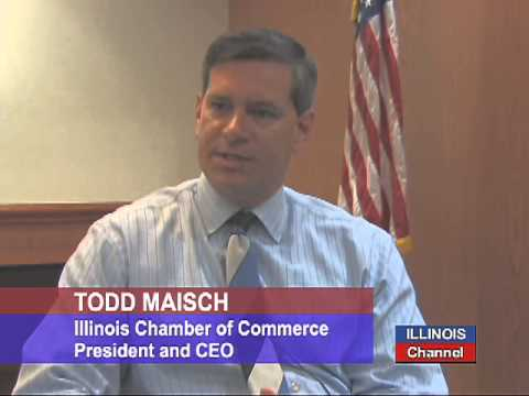 Todd Maisch of the Illinois Chamber of Commerce