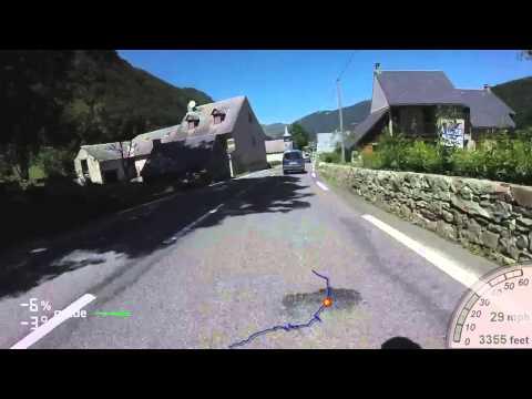 Col Du Tourmalet Descent August 2015