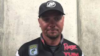 2016 Bassmaster Classic Day 3- Jason Christie