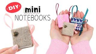 가방 미니북 만들기 DIY Mini Notebooks 미니노트 | Back to school & School supplies