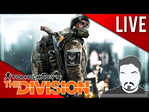 SAVING NEW YORK!! - Tom Clancy's The Division LIVE Play 1 (PC) (Livestream)