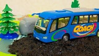 Машинки мультфильм - Мир машинок - 155 серия: Автобус, Троллейбус. Развивающий мультик для детей.