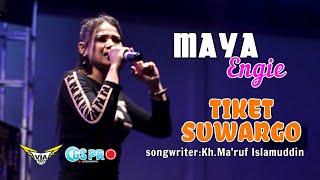 TIKET SUWARGO ~ maya engie - via RDD