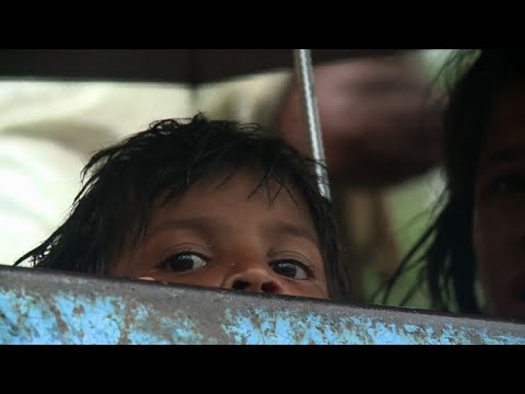 Rohingya crossing to Bangladesh by boat give harrowing accounts