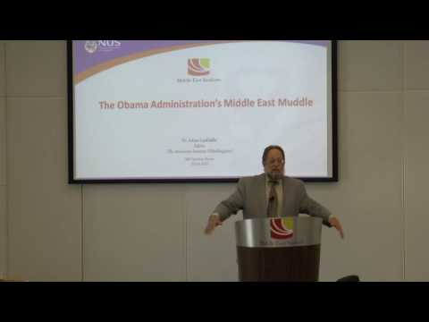 The Obama Administration's Middle East Muddle