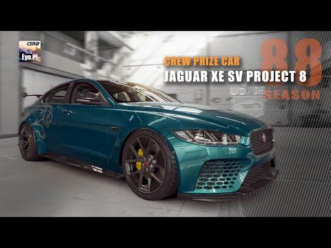 CSR2 | Season 88 - Crew Prize Car - Jaguar XE SV Project 8 | CSR Racing 2 | Mods