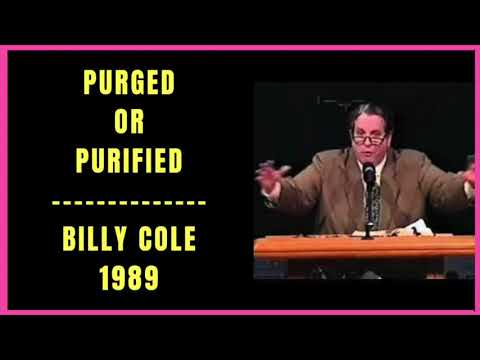 Purged or Purified by Billy Cole 1989