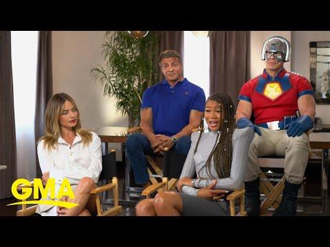 'The Suicide Squad' cast talks about the summer's most talked about film l GMA