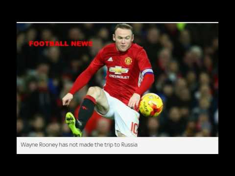 Football  News-  Wayne Rooney and Luke Shaw left out of Man Utd squad to face FK Rostov