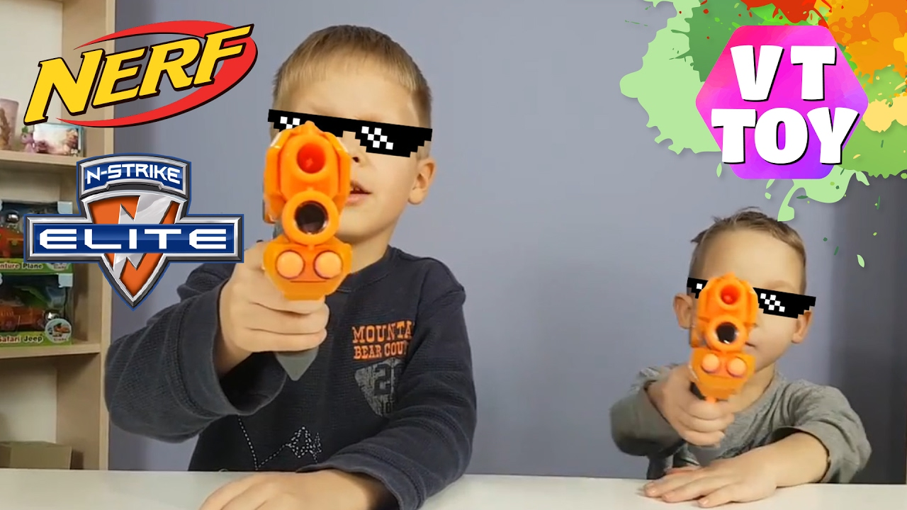 Nerf N-Strike Modulus Regulator Unboxing and Quick Look - YouTube