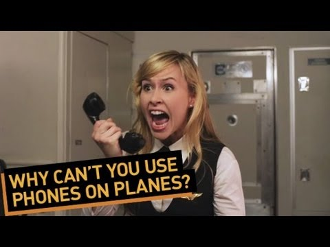 Why Can't You Use Phones on Planes?