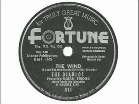 The Diablos feat. Nolan Strong - The Wind (DETROIT MOTOR CITY 1954)