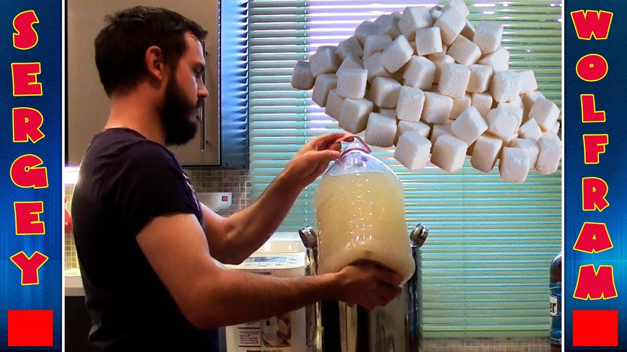 Сахарная брага,ну очень вкусная( Braga, well is very tasty)