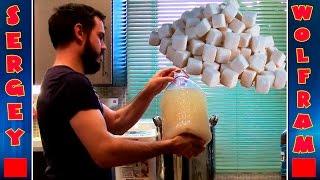 видео Приготовление браги для питья