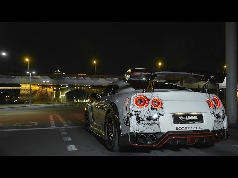 LIMMA - NISSAN GT-R MOSCOW 4k