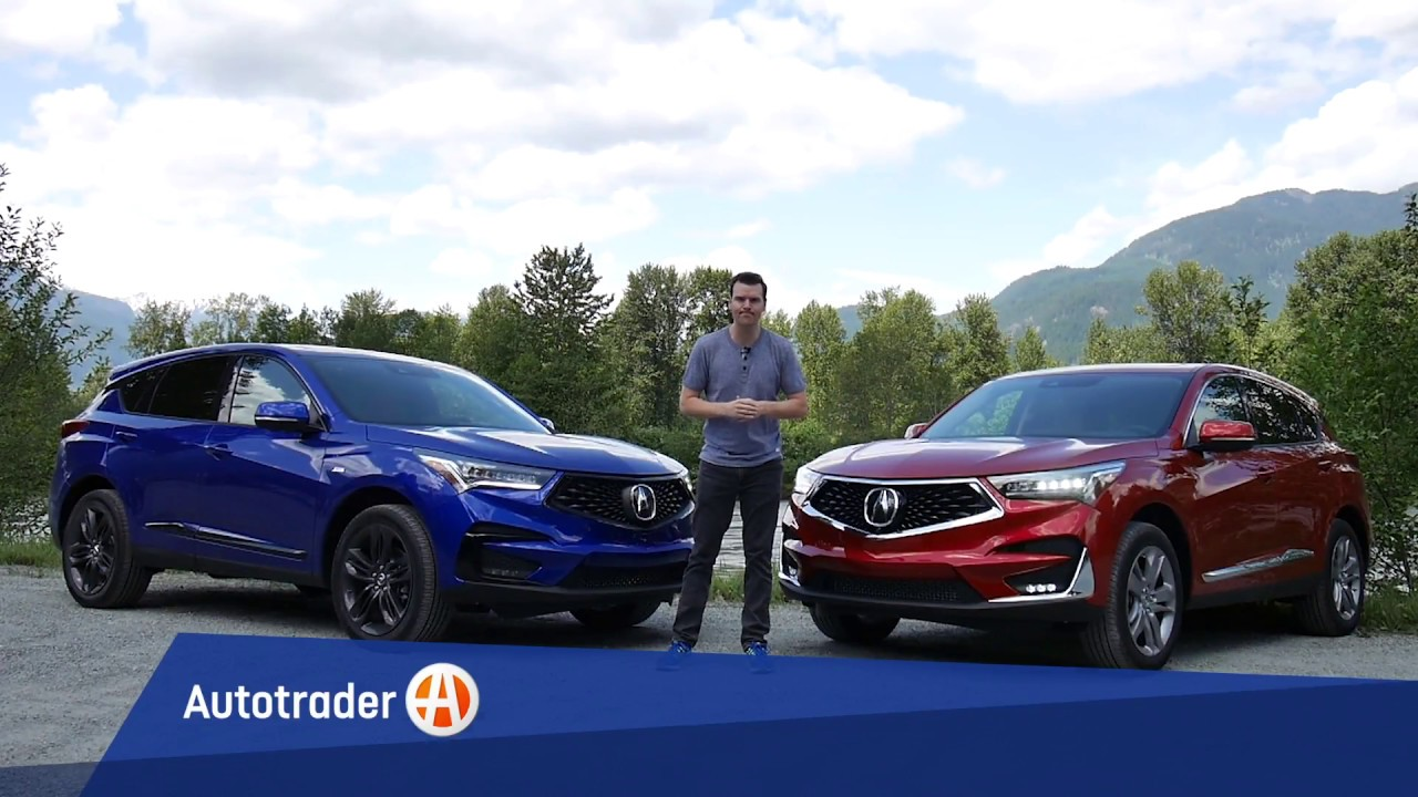 2019 acura rdx vs rdx a spec what s the difference. Black Bedroom Furniture Sets. Home Design Ideas