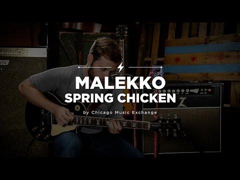 Quick Riffs: Malekko Spring Chicken Ltd Reverb Pedal