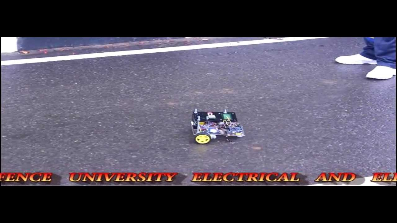 GPS guided autonomous robot
