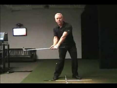 Online Golf Instruction - Left Shoulder is the Swing Center