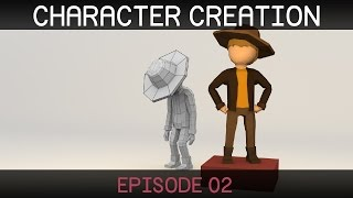 Blender Character Creation: Texturing