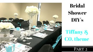 DIY Bridal Shower ~ Centerpieces, Vases and Serving Trays | Dollar Tree Items