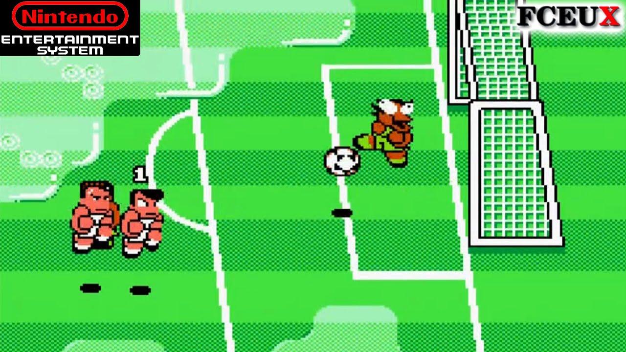 NES Longplay [ ] Kunio Kun no Nekketsu Soccer League ...