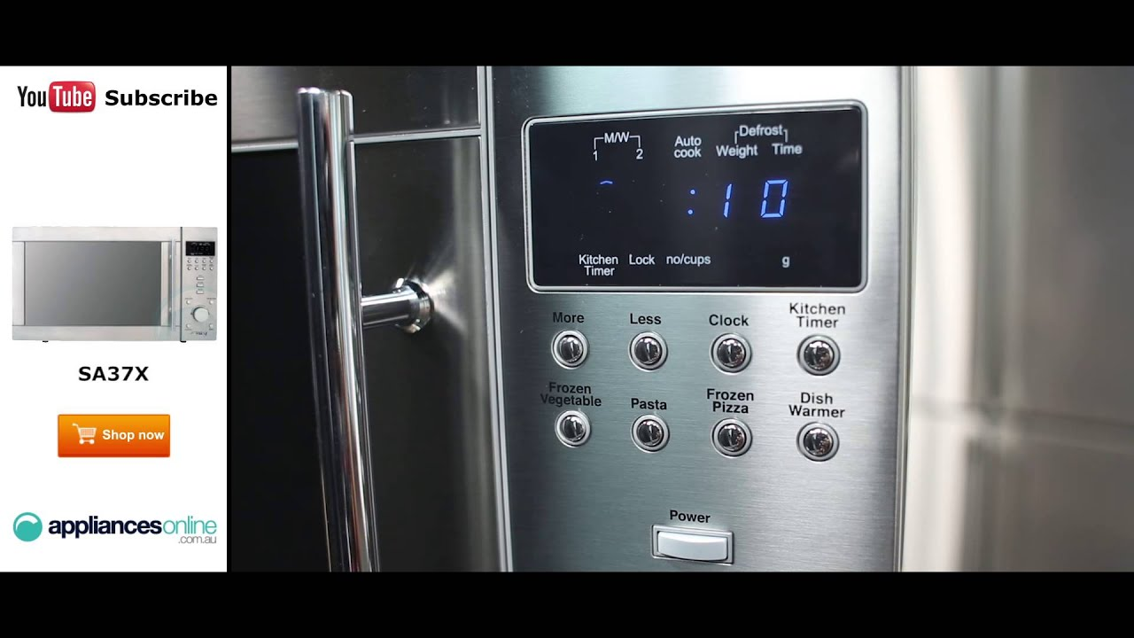 Uncategorized Smeg Kitchen Appliances Review smeg microwave sa37x reviewed by expert appliances online youtube online