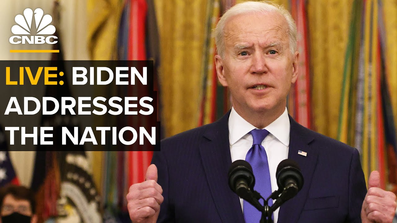 WATCH LIVE: Biden addresses nation on one-year anniversary of Covid-19 shutdowns — 3/11/2021