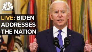 Download WATCH LIVE: Biden addresses nation on one-year anniversary of Covid-19 shutdowns — 3/11/2021