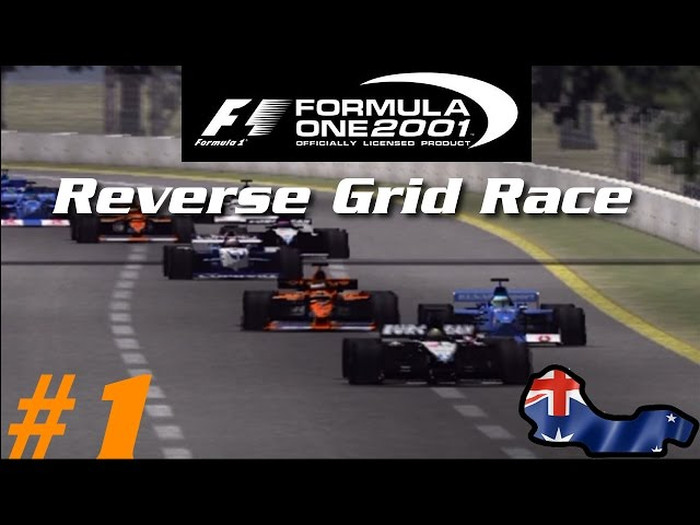 Formula One 2001: Reverse Grid Race - Part 1 - Australia