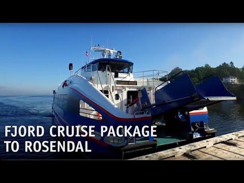 Thumbnail: Hardangerfjordekspressen Bergen-Rosendal