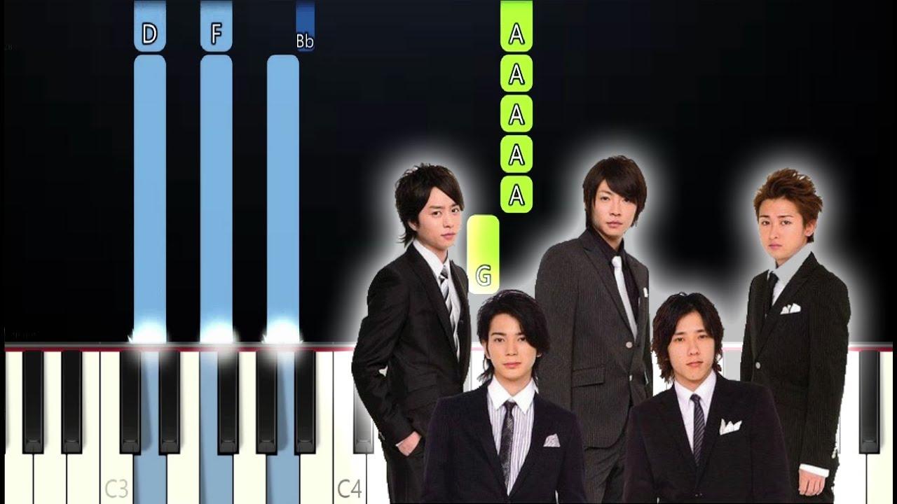 A Kite カイト arashi x yonezu kenshi - kite(カイト) (piano tutorial)