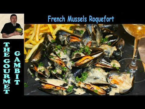 mussels-in-french-roquefort-sauce-|-french-bistro-recipe