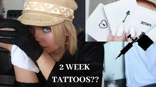 2 Week Tattoos  Inkbox X Alli Simpson @ www.OfficialVideos.Net