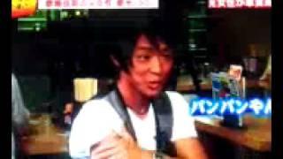 くだまき八兵衛にて名倉潤、河本準一、優香さんと共演☆オナベ界きっての...