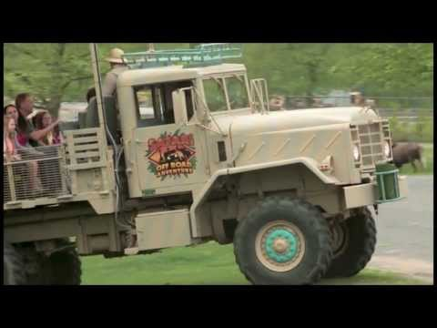 Safari Off Road Adventure HD B-roll Footage Six Flags Great Adventure