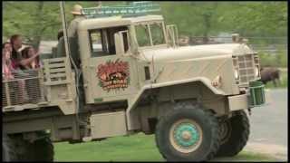 Safari Off Road Adventure HD B-roll Footage Six Flags Great Adventure