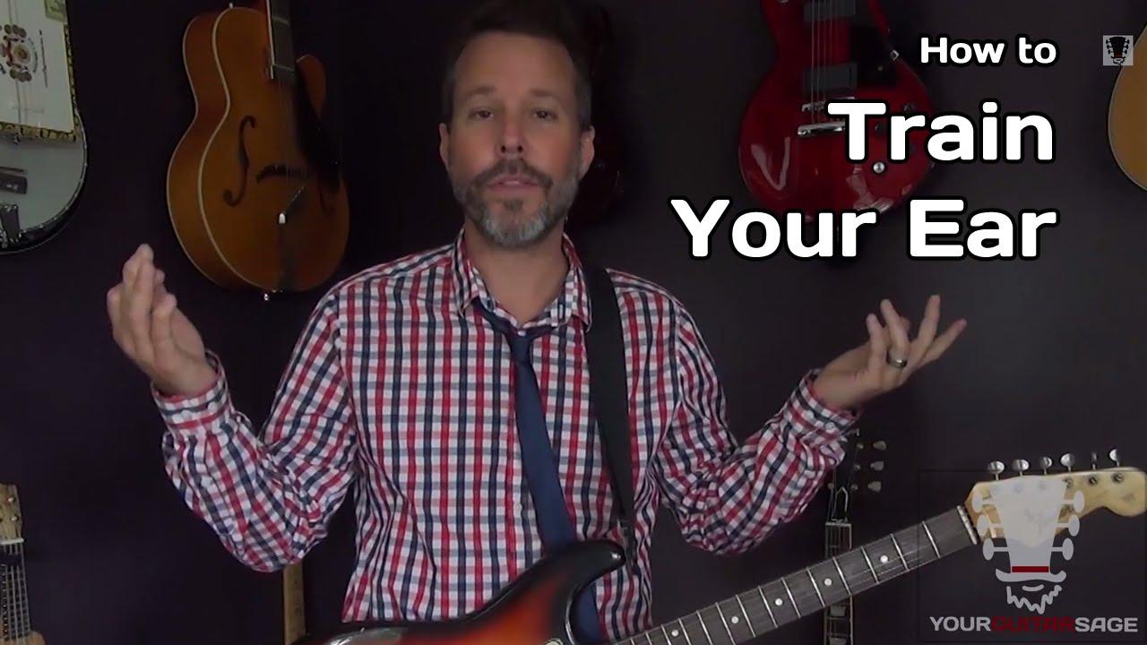 How To Train Your Ear Guitar Chord Ear Training Secret Youtube