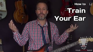How To Train Your Ear - Guitar Chord Ear Training Secret