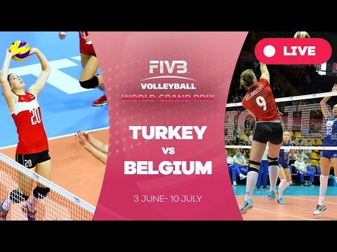 Turkey v Belgium - Group 1: 2016 FIVB Volleyball World Grand Prix