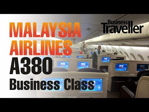 Malaysia Airlines A380 Business Class In-flight Experience -